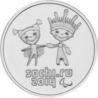 Talismans and logo XI Paralympic Winter Games Sochi